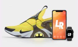 Nike Dévoile Des Baskets Pilotables Contrôlées Avec iPhone Et Apple Watch
