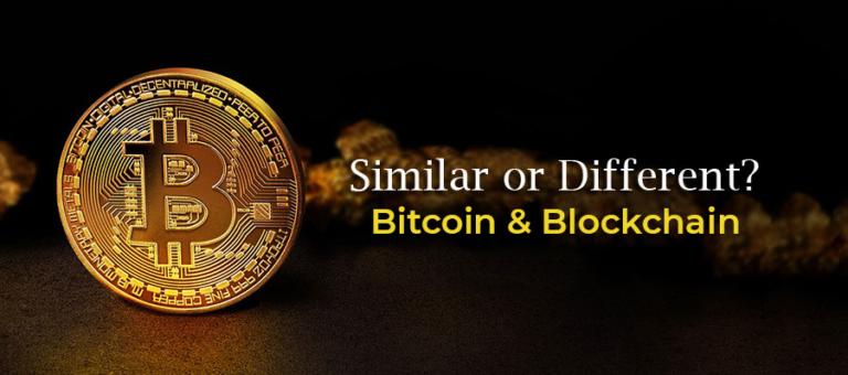 Bitcoin Et Blockchain : Similaire Ou Différent ?