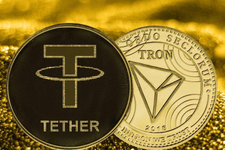 Tron Et Tether Collaborent Et Prévoient De Publier l'USDT Sur Le Réseau Tron